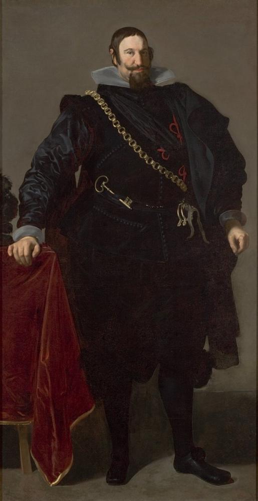 Diego Velázquez, Portrait Of The Count Duke Of Olivares, Canvas, Diego Velázquez, kanvas tablo, canvas print sales