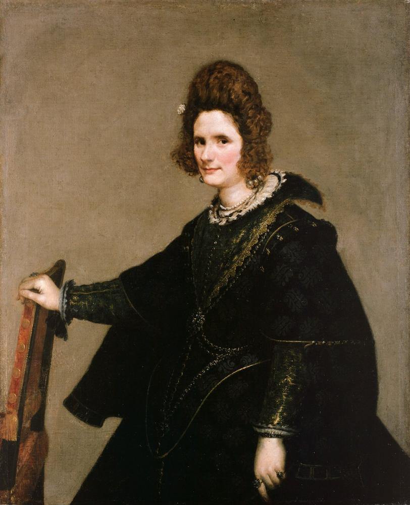 Diego Velázquez, Portrait of a Lady, Canvas, Diego Velázquez, kanvas tablo, canvas print sales