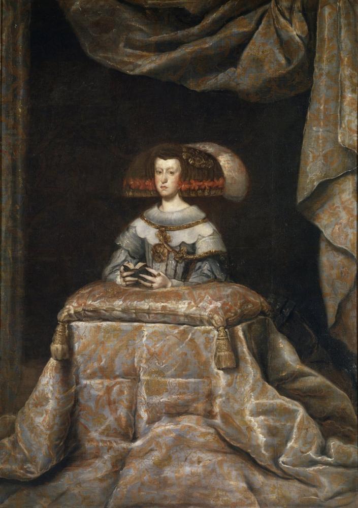 Diego Velázquez, Mariana de Austria, Canvas, Diego Velázquez, kanvas tablo, canvas print sales