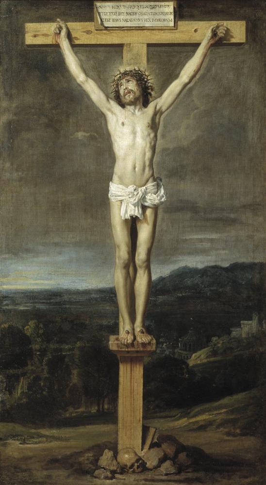 Diego Velázquez, Çarmıha Gerilmiş İsa, Kanvas Tablo, Diego Velázquez, kanvas tablo, canvas print sales