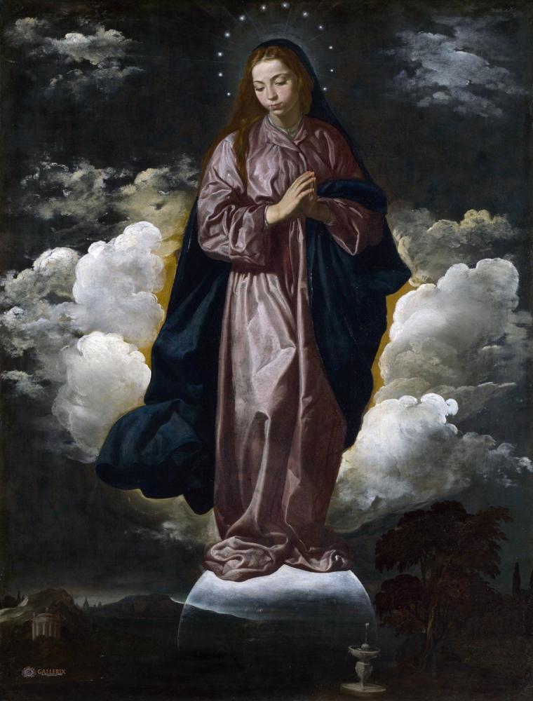 Diego Velázquez, Inmaculada Concepción 2, Canvas, Diego Velázquez, kanvas tablo, canvas print sales