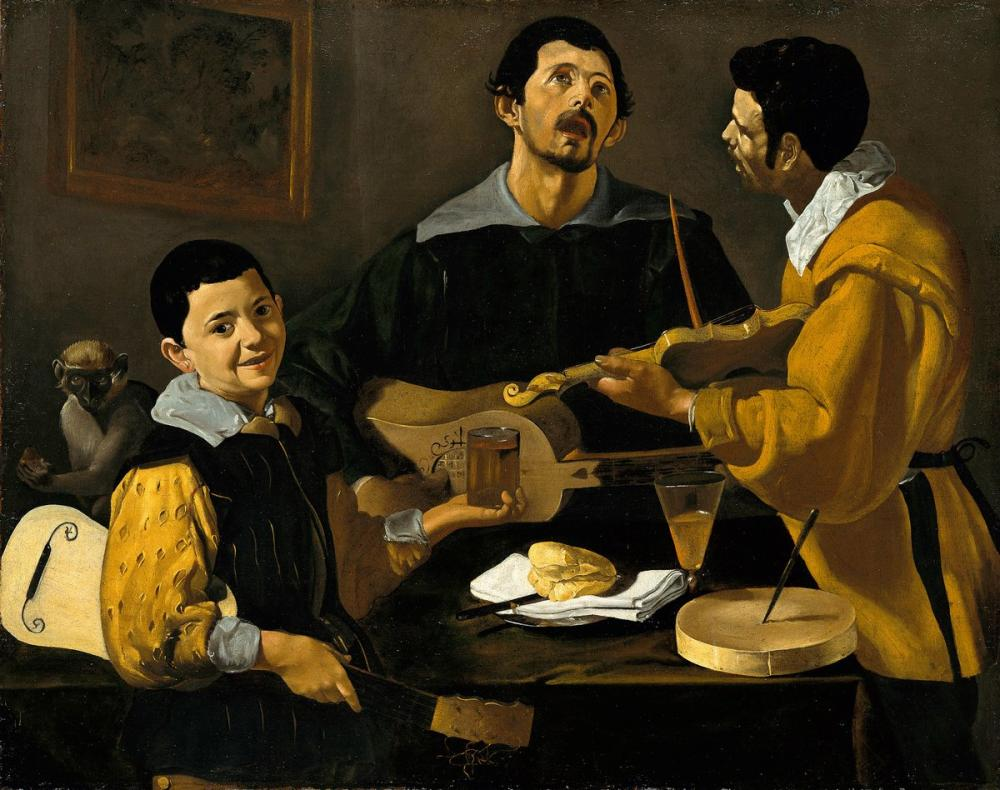 Diego Velázquez, The Three Musicians, Canvas, Diego Velázquez, kanvas tablo, canvas print sales