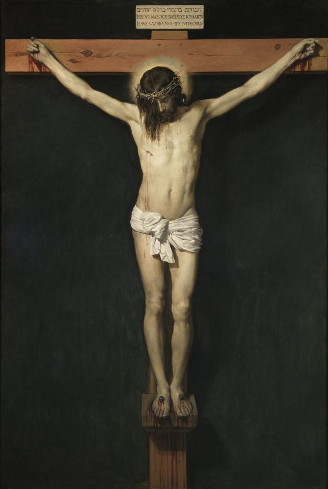 Diego Velázquez, Çarmıha Gerilmiş İsa, Kanvas Tablo, Diego Velázquez