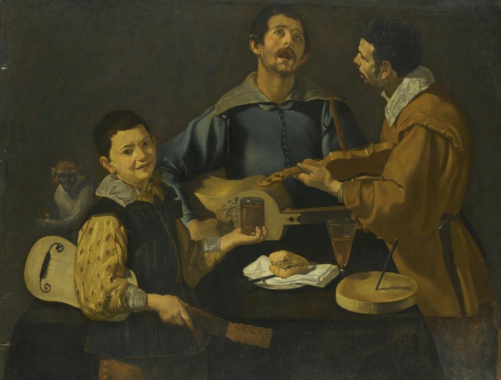 Diego Velázquez, Circle of The Concert, Canvas, Diego Velázquez, kanvas tablo, canvas print sales