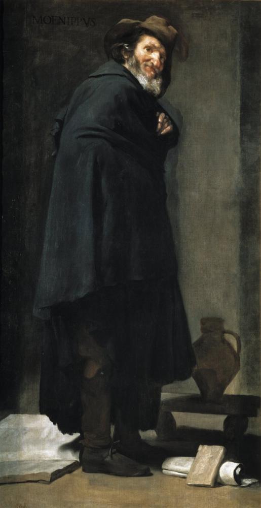 Diego Velázquez, Ménippe de Sinope, Canvas, Diego Velázquez, kanvas tablo, canvas print sales