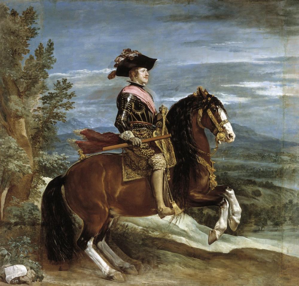 Diego Velázquez, Philip iv On Horseback, Canvas, Diego Velázquez, kanvas tablo, canvas print sales
