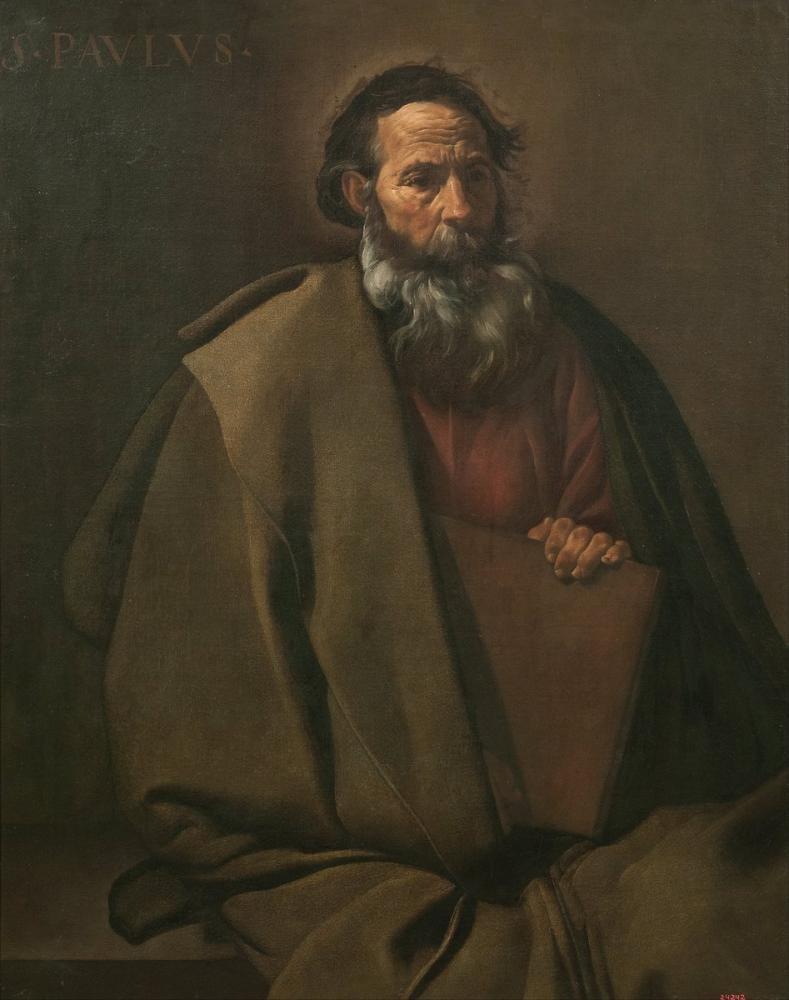 Diego Velázquez, Saint Paul, Canvas, Diego Velázquez, kanvas tablo, canvas print sales