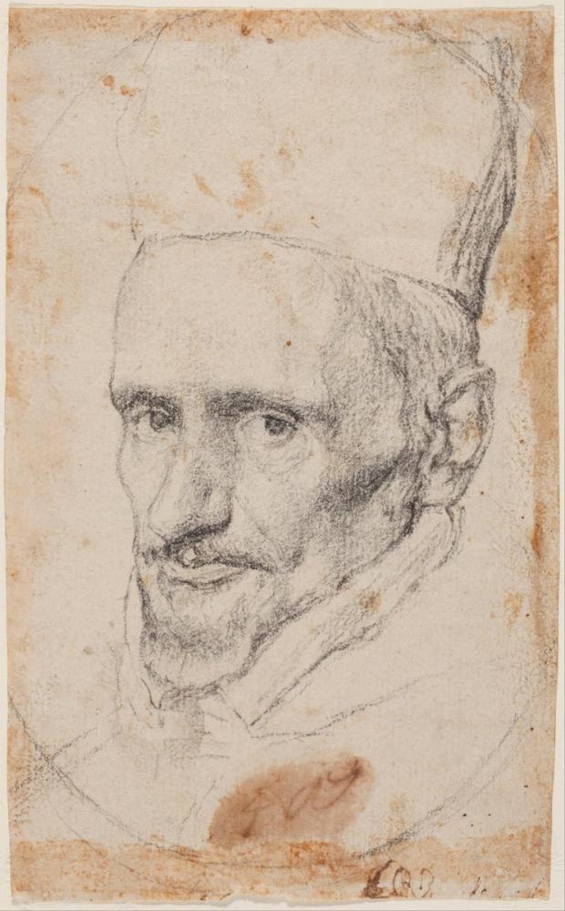 Diego Velázquez, Portrait Of Cardenal Borja, Canvas, Diego Velázquez, kanvas tablo, canvas print sales