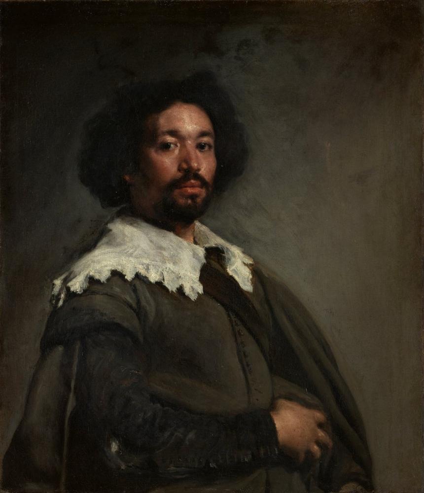 Diego Velázquez, Portrait Of Juan Pareja, Canvas, Diego Velázquez, kanvas tablo, canvas print sales
