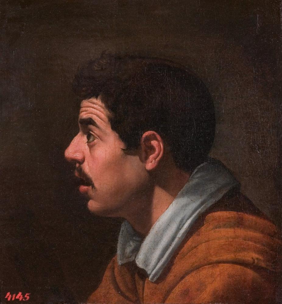Diego Velázquez, Profildeki Adam, Kanvas Tablo, Diego Velázquez, kanvas tablo, canvas print sales