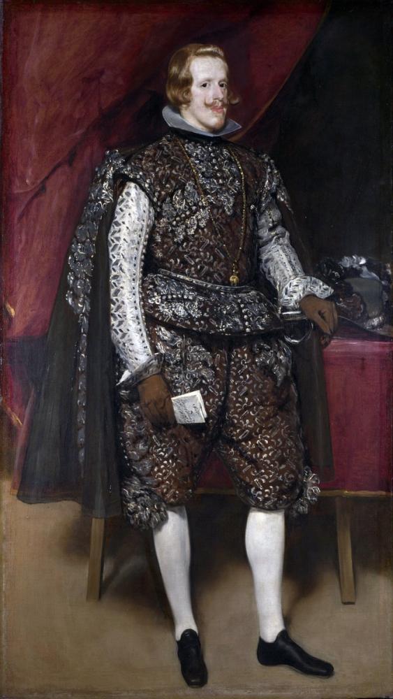 Diego Velázquez, Felipe IV Kestane Ve Gümüş, Kanvas Tablo, Diego Velázquez