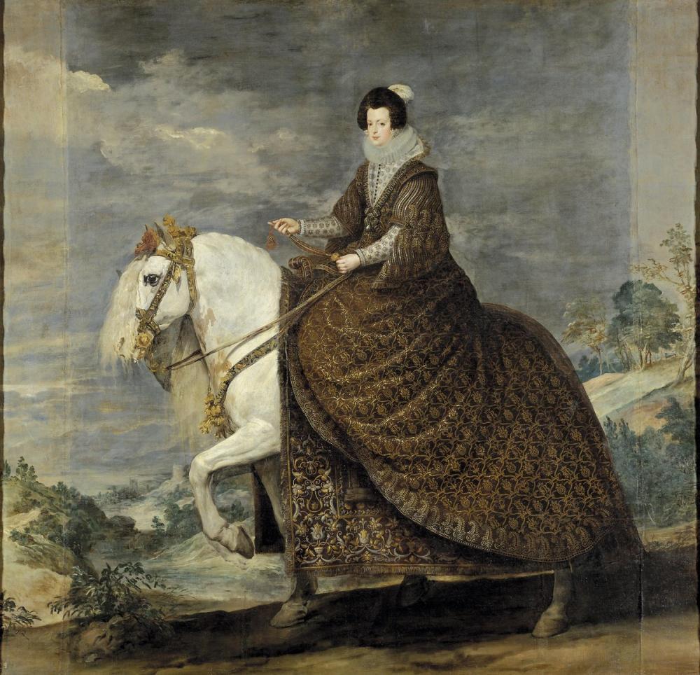 Diego Velázquez, Isabel de Borbón, Canvas, Diego Velázquez, kanvas tablo, canvas print sales
