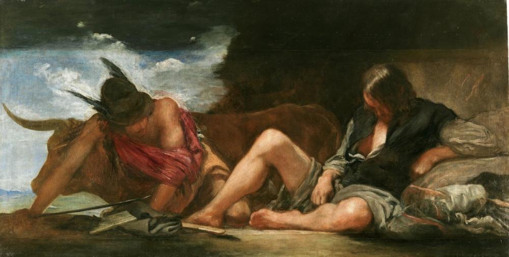 Diego Velázquez, Mercury and Argus, Canvas, Diego Velázquez, kanvas tablo, canvas print sales