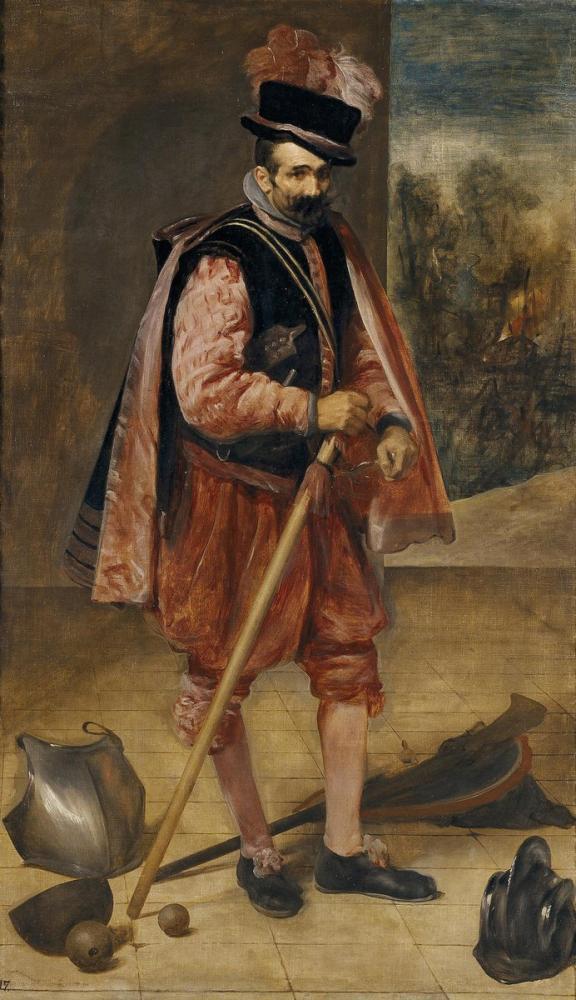 Diego Velázquez, Avusturya Jester Don John, Kanvas Tablo, Diego Velázquez