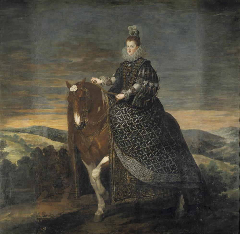 Diego Velázquez, Avusturya lı Margarita, Kanvas Tablo, Diego Velázquez, kanvas tablo, canvas print sales