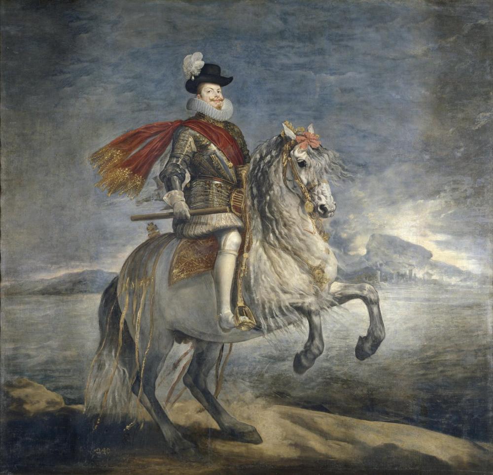 Diego Velázquez, Felipe III, Kanvas Tablo, Diego Velázquez