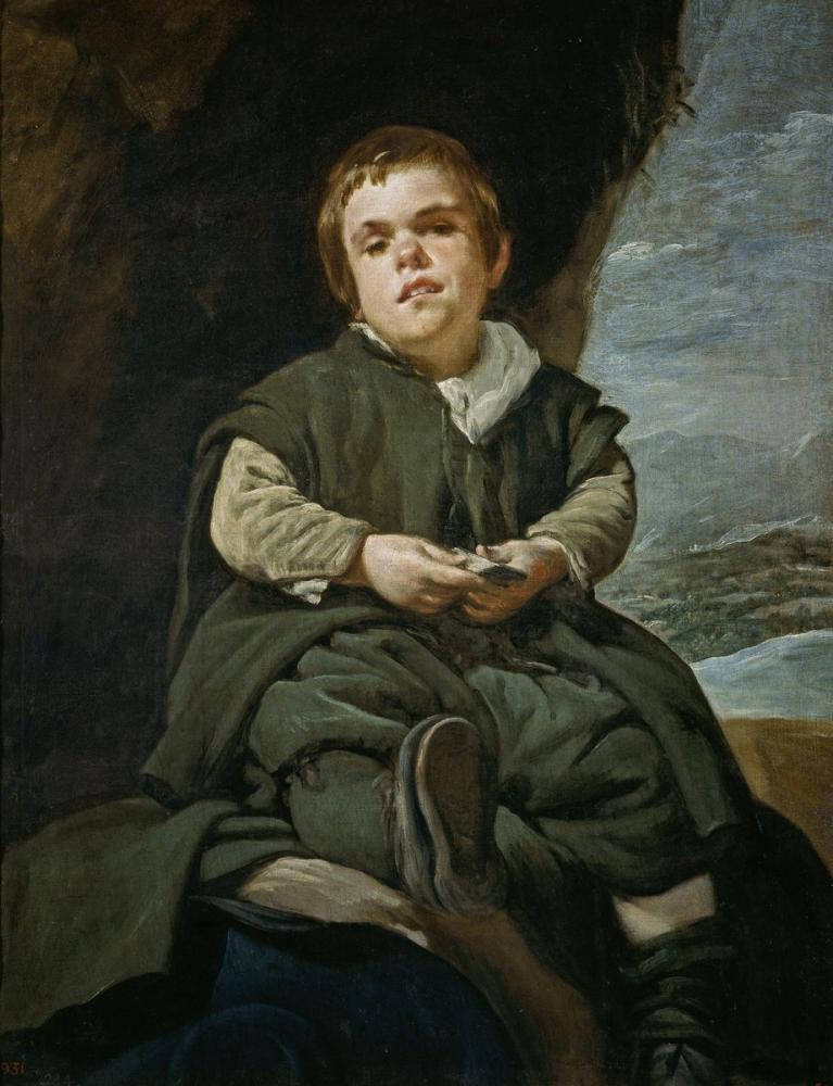 Diego Velázquez, Francisco Lezcano Portresi, Kanvas Tablo, Diego Velázquez, kanvas tablo, canvas print sales