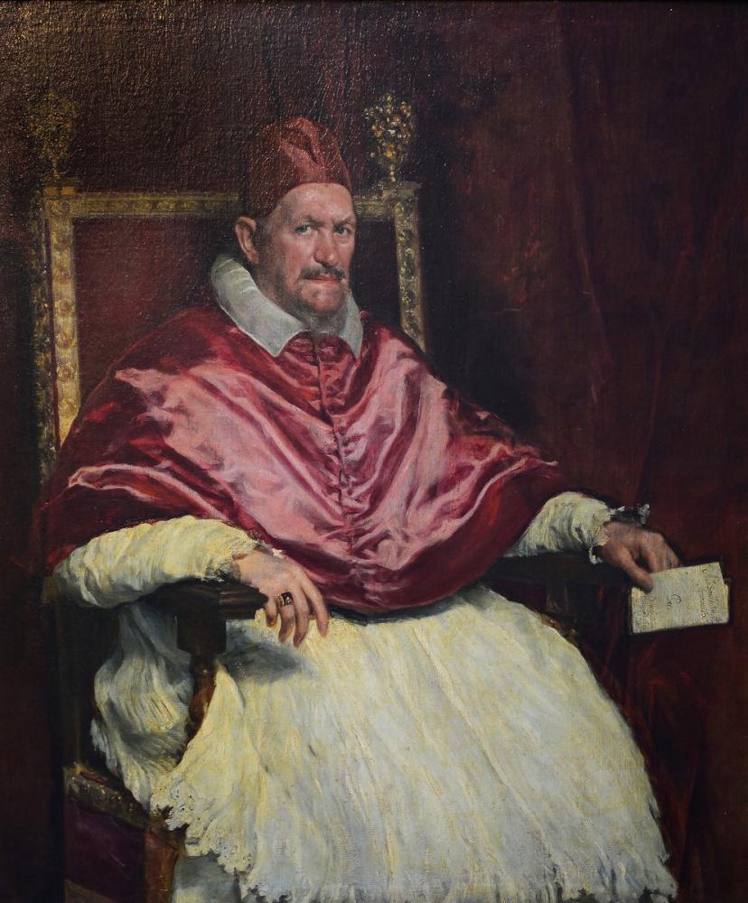 Diego Velázquez, Innocentius X Portresi, Kanvas Tablo, Diego Velázquez