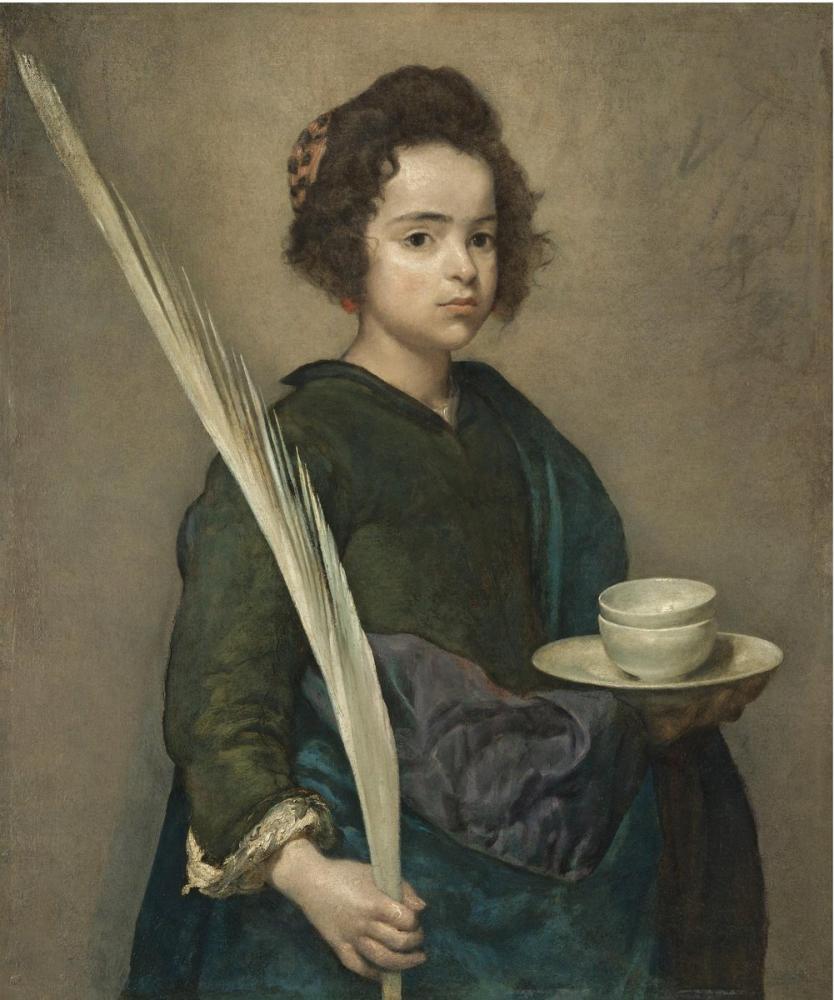 Diego Velázquez, Saint Rufina, Canvas, Diego Velázquez, kanvas tablo, canvas print sales