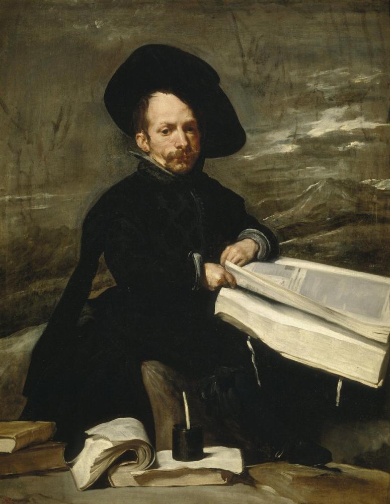 Diego Velázquez, Soytarı Don Diego de Acedo, Kanvas Tablo, Diego Velázquez, kanvas tablo, canvas print sales