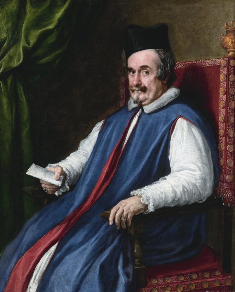 Diego Velázquez, Monsignor Cristoforo Segni, Canvas, Diego Velázquez, kanvas tablo, canvas print sales