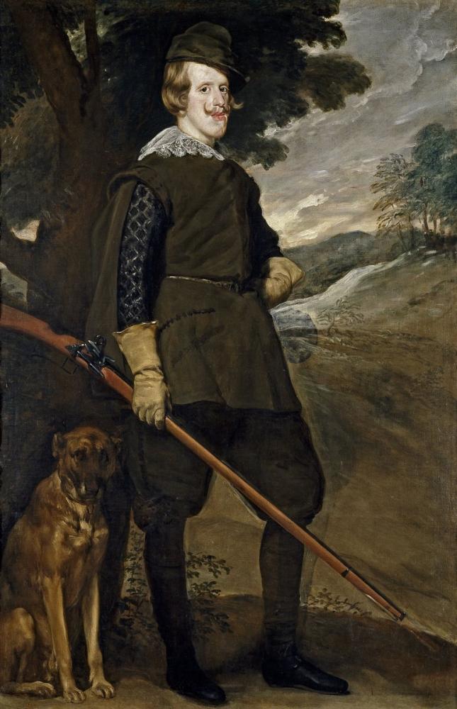 Diego Velázquez, Felipe IV Hunter, Canvas, Diego Velázquez, kanvas tablo, canvas print sales