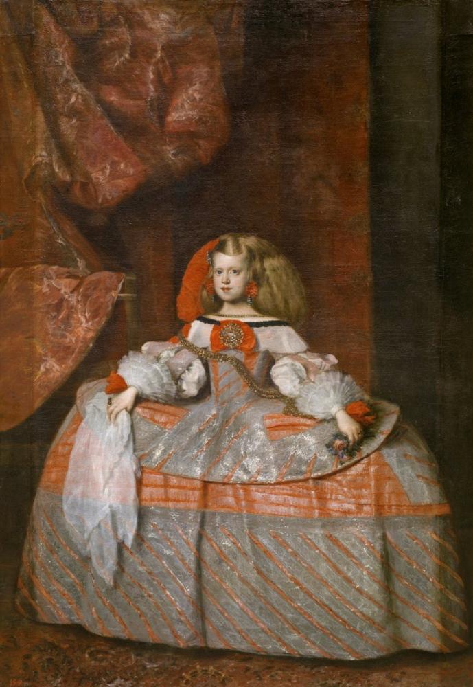 Diego Velázquez, Infanta Margarita, Kanvas Tablo, Diego Velázquez
