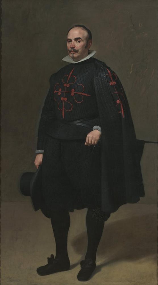 Diego Velázquez, Don Pedro de Barberana Portresi, Kanvas Tablo, Diego Velázquez