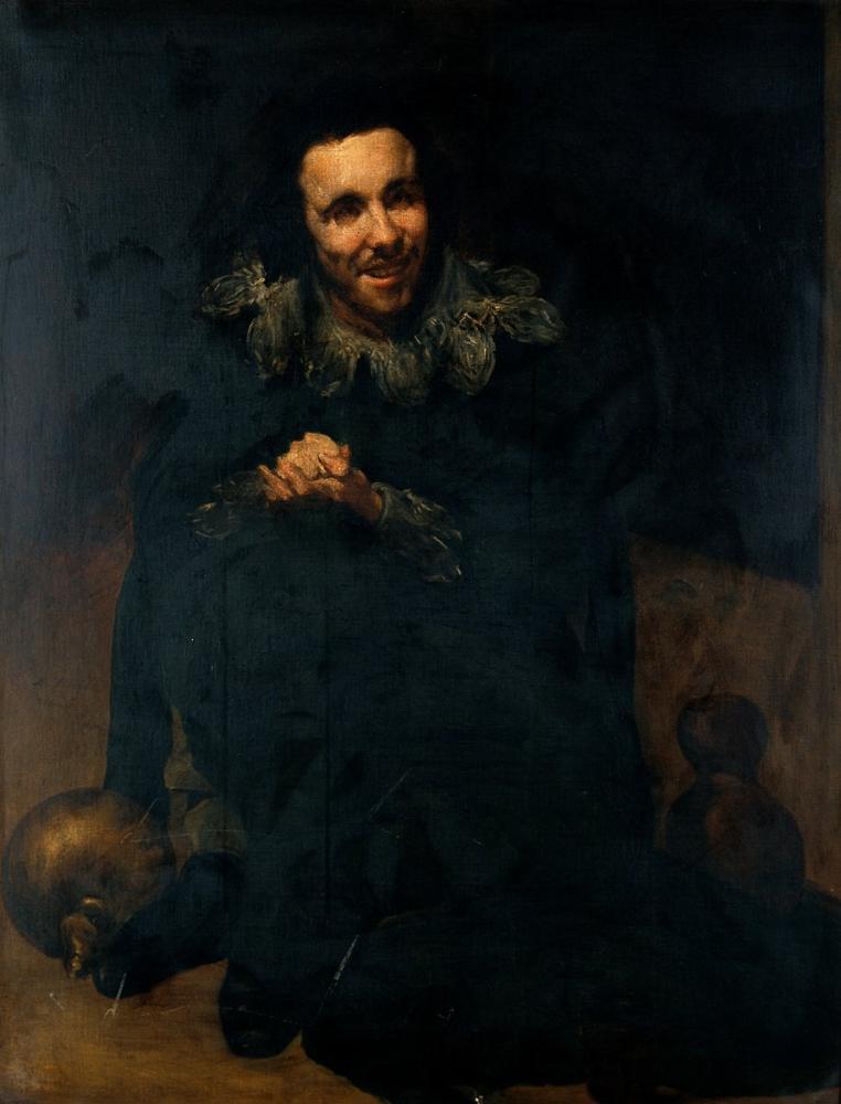 Diego Velázquez, Cüce Don Juan Calabazas, Kanvas Tablo, Diego Velázquez, kanvas tablo, canvas print sales