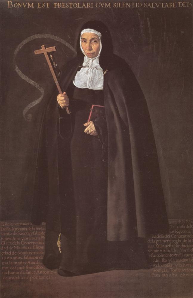 Diego Velázquez, Madre Maria Jeronima de la Fuente, Canvas, Diego Velázquez, kanvas tablo, canvas print sales