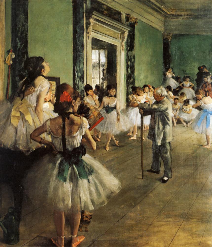 Dance Class, Edgar Degas, Canvas, Edgar Degas, kanvas tablo, canvas print sales