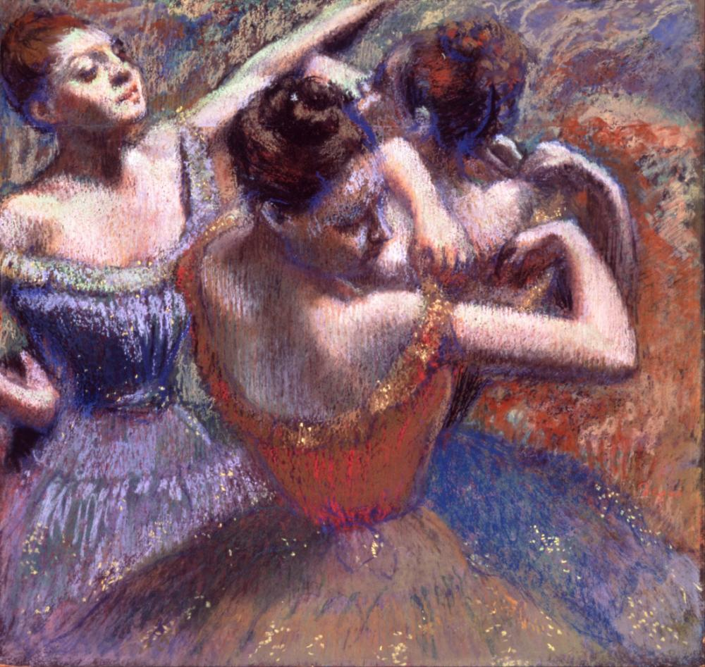 Balerinler, Edgar Degas, Kanvas Tablo, Edgar Degas, kanvas tablo, canvas print sales