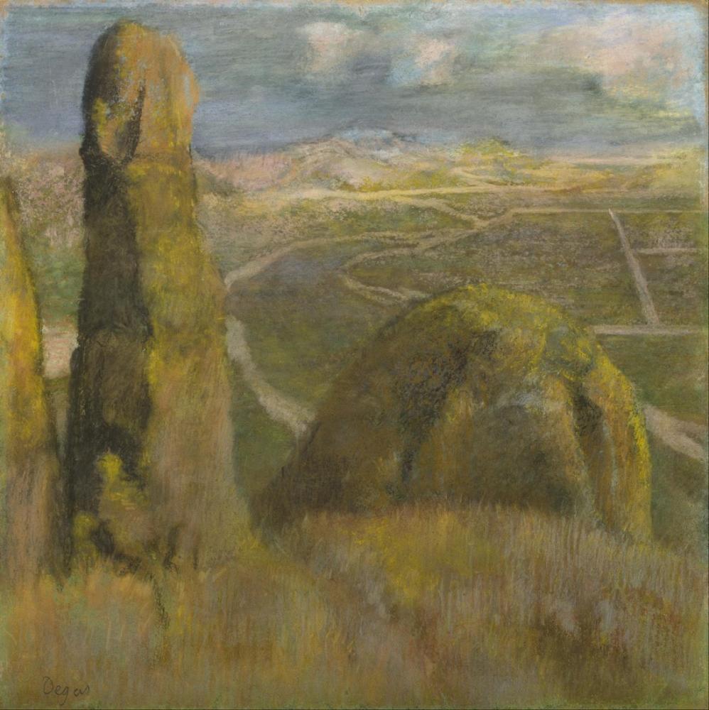 Edgar Degas Manzara, Kanvas Tablo, Edgar Degas, kanvas tablo, canvas print sales