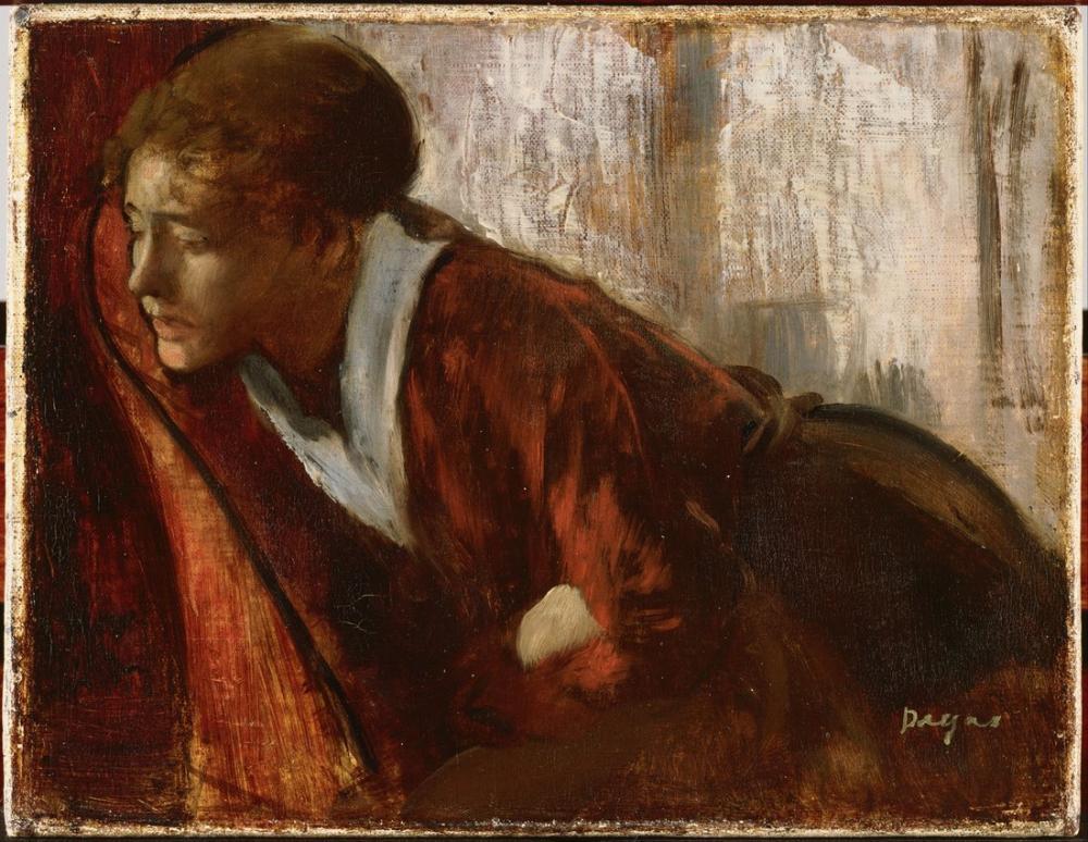 Edgar Degas Melankoli, Kanvas Tablo, Edgar Degas, kanvas tablo, canvas print sales