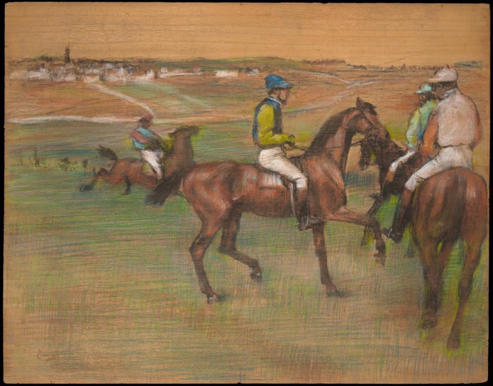 Edgar Degas Yarış Atı, Kanvas Tablo, Edgar Degas, kanvas tablo, canvas print sales