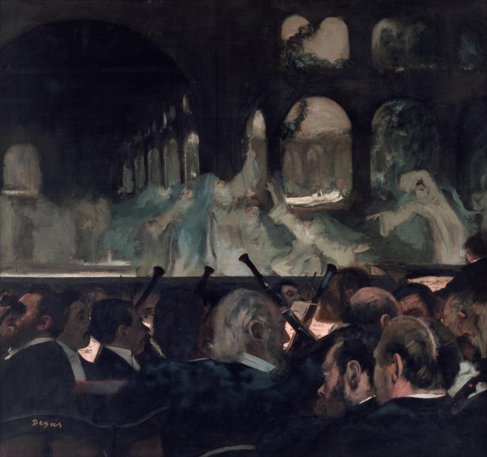 Edgar Degas Robert Le Diable, Canvas, Edgar Degas, kanvas tablo, canvas print sales
