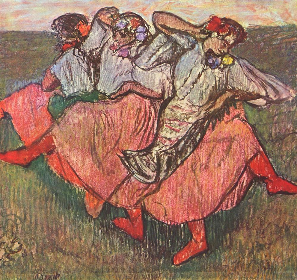 Edgar Degas Russian Dancers, Canvas, Edgar Degas, kanvas tablo, canvas print sales