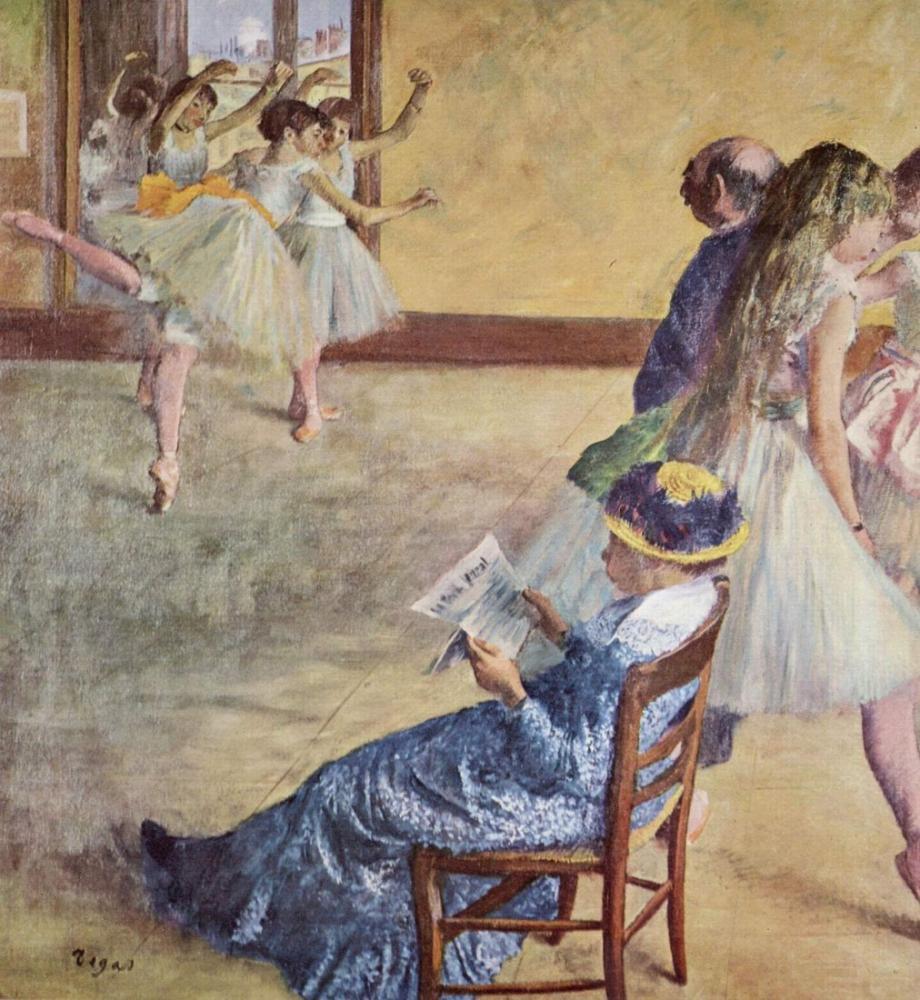 Edgar Degas Bale Sınıfı, Kanvas Tablo, Edgar Degas, kanvas tablo, canvas print sales