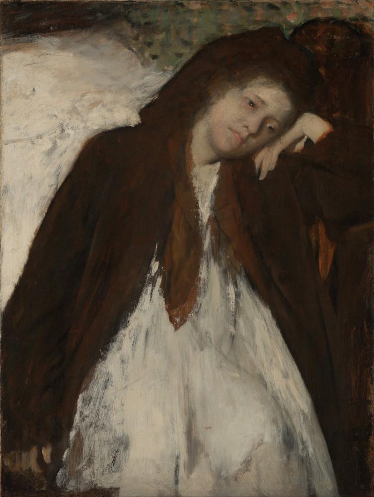 Edgar Degas Convalescent, Kanvas Tablo, Edgar Degas, kanvas tablo, canvas print sales