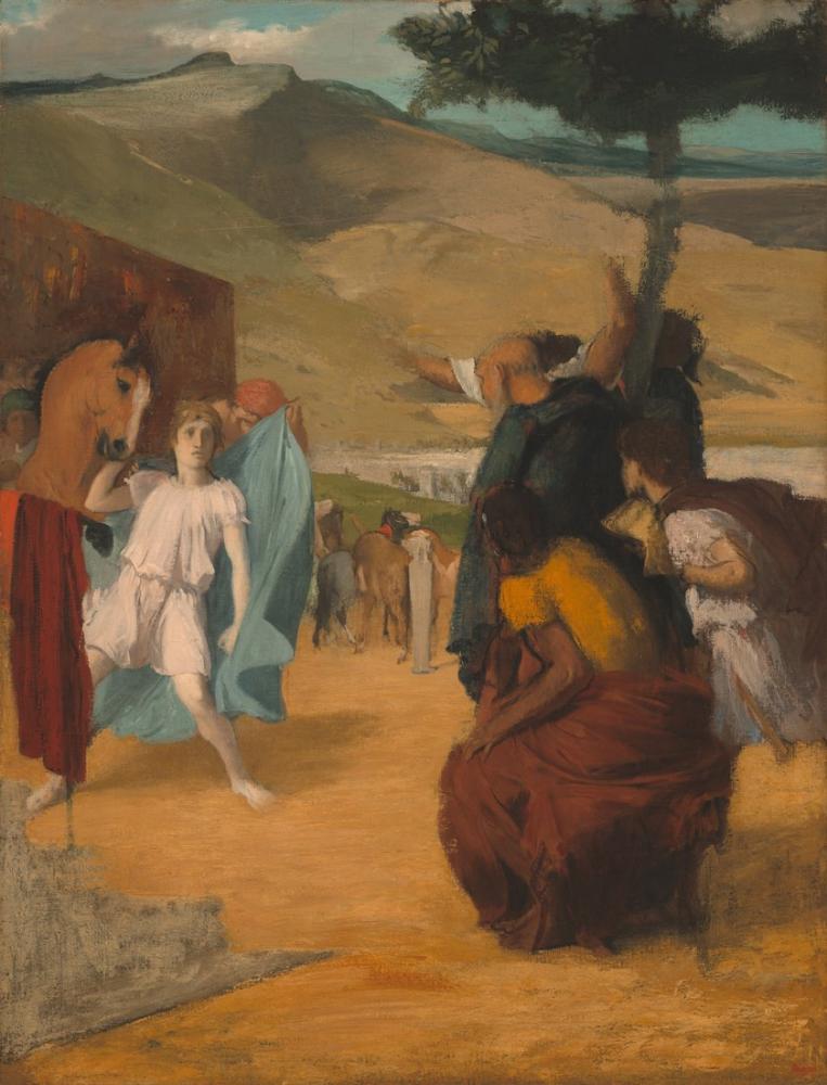 Edgar Degas Alexander Ve Bucephalus G, Kanvas Tablo, Edgar Degas, kanvas tablo, canvas print sales