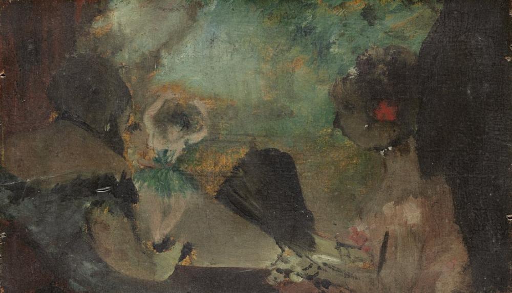 Edgar Degas The Loge C, Canvas, Edgar Degas, kanvas tablo, canvas print sales