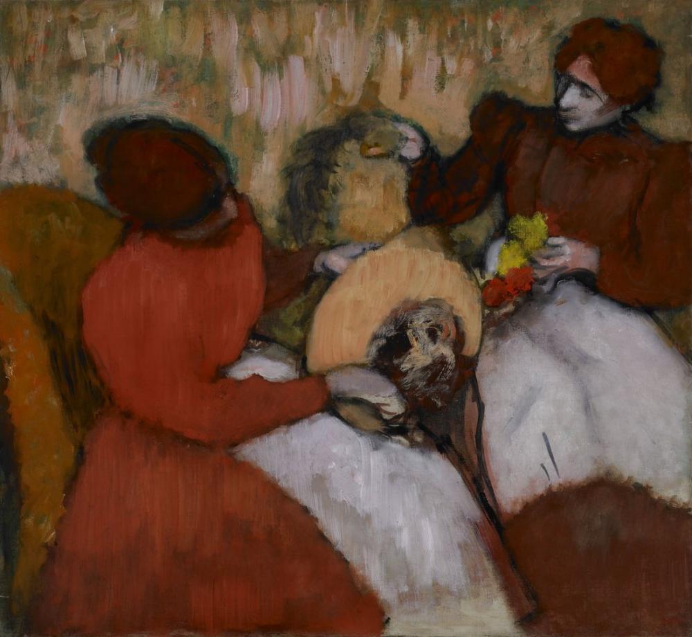 Edgar Degas The Milliners, Canvas, Edgar Degas, kanvas tablo, canvas print sales