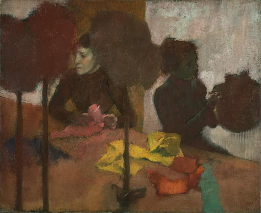 Edgar Degas Değirmenciler II, Kanvas Tablo, Edgar Degas, kanvas tablo, canvas print sales