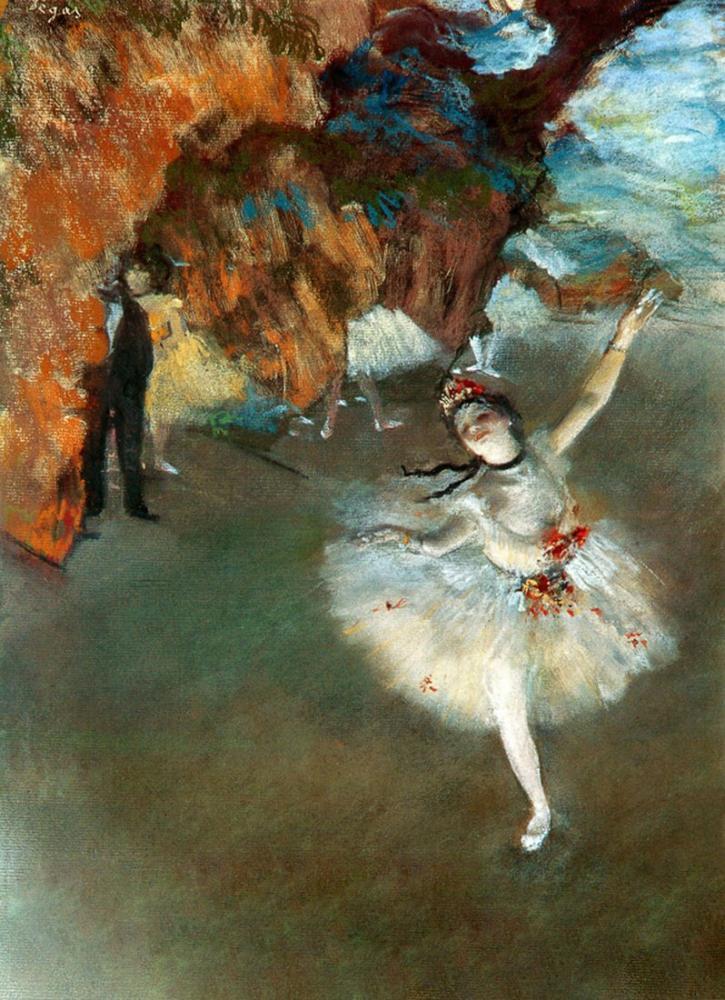 Edgar Degas The Star I, Canvas, Edgar Degas, kanvas tablo, canvas print sales
