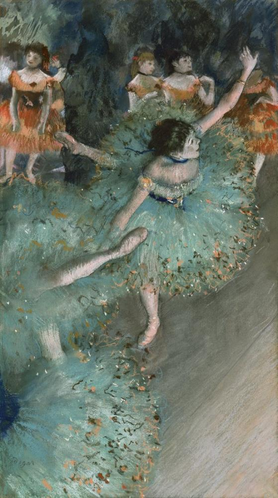 Edgar Degas Sallanan Dansçılar, Kanvas Tablo, Edgar Degas, kanvas tablo, canvas print sales