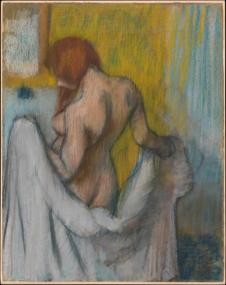 Edgar Degas Woman With A Towel, Canvas, Edgar Degas, kanvas tablo, canvas print sales