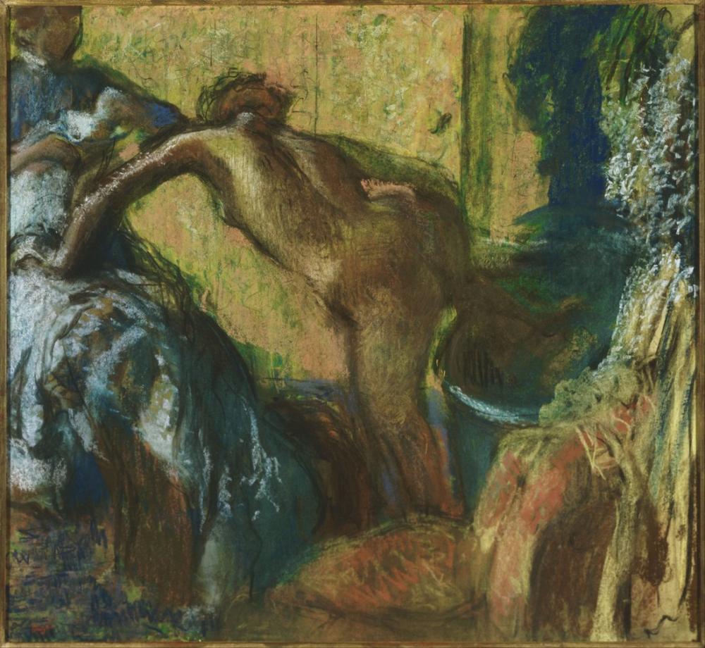 Edgar Degas Banyodan Sonra, Kanvas Tablo, Edgar Degas, kanvas tablo, canvas print sales