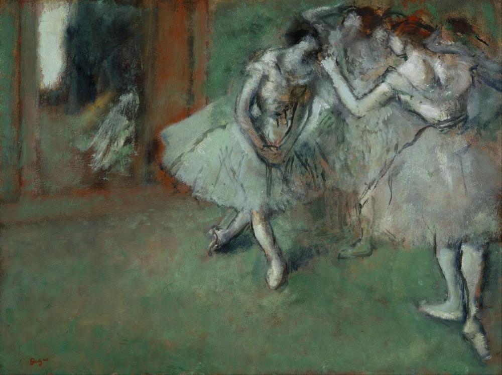 Edgar Degas Bir Grup Dansçı, Kanvas Tablo, Edgar Degas, kanvas tablo, canvas print sales