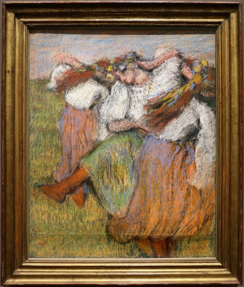 Edgar Degas Ballerini Russi, Canvas, Edgar Degas, kanvas tablo, canvas print sales