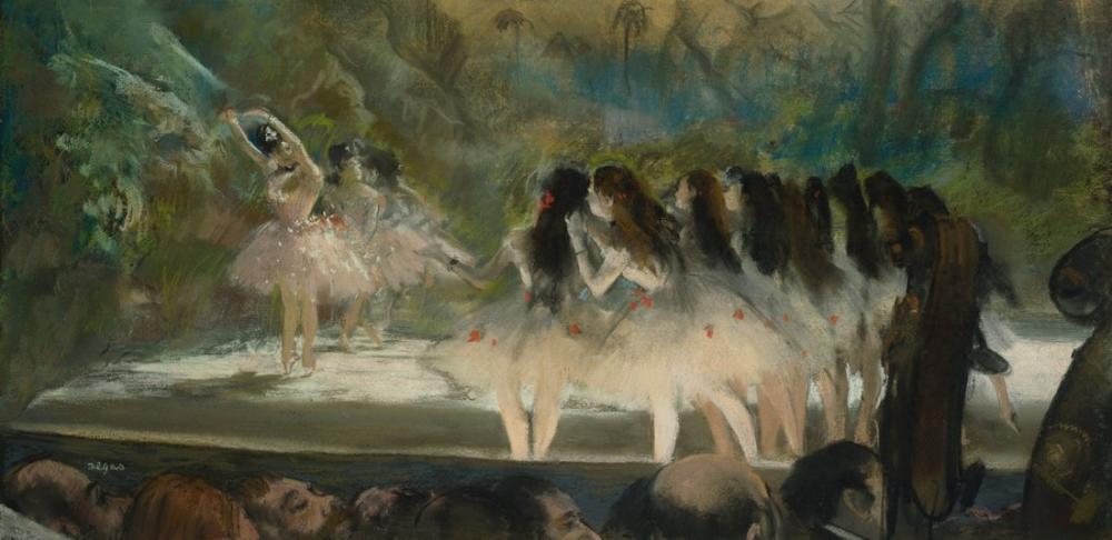 Edgar Degas Ballet At The Paris Opeera, Canvas, Edgar Degas, kanvas tablo, canvas print sales